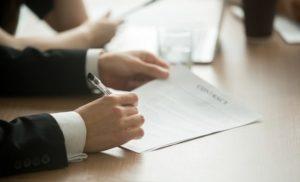 Firma de contrato laboral con la firma electrónica avanzada