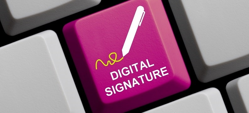 About advanced electronic signatures