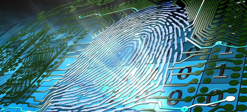 What is a biometric signature?